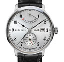 Graf Zeppelin LZ129 Hindenburg Power Reserve Automatic Watch 7062-1