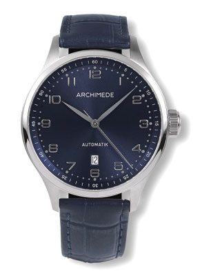 Archimede Klassic Blue Dial Automatic Dress Watch UA7929-A2.17