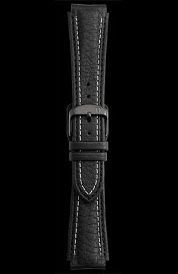 Damasko 20mm Leather Strap with Black Buckle