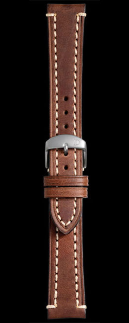 Damasko 20mm Brown Leather Liberty Strap