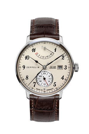 Graf Zeppelin Power Reserve Automatic Watch 7060-4