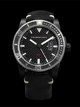 Schaumburg AQM 4 Carbon Automatic Watch