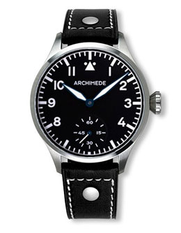 Archimede KS  42 Hand Wound Pilot Watch  UA7929-H2.1