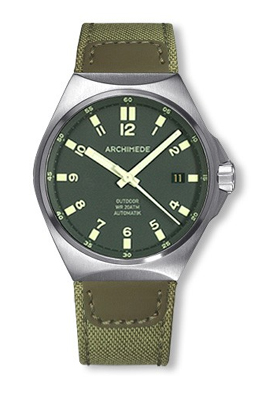 Archimede Outdoor Protect Green Dial Automatic Sport Watch UA8239CA-A4.1H