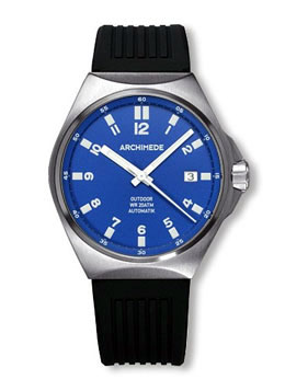 Archimede Outdoor Protect Blue Dial Automatic Sport Watch UA8237S-A3.1H
