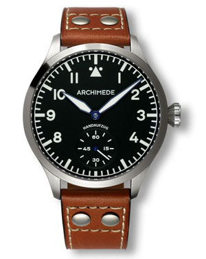 Archimede XLH Large Hand Wound Pilot Watch  UA7949-H1.2