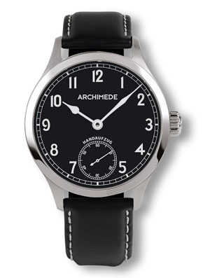 Archimede Black Dial Hand Wound Marine Deck Watch UA7952-H2.1