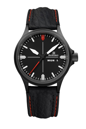 Damasko DA34 Black Automatic Watch