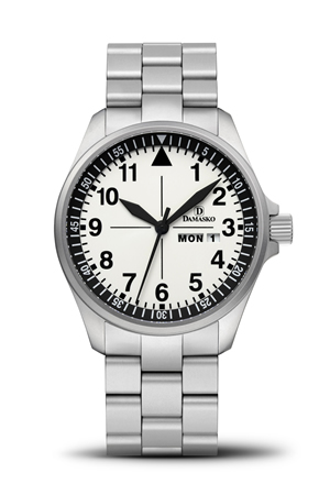 Damasko DA373 Automatic Watch with Ice Hardened Bracelet