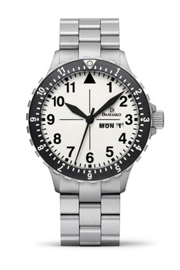 Damasko DA47 Automatic Watch  with Ice Hardened Bracelet