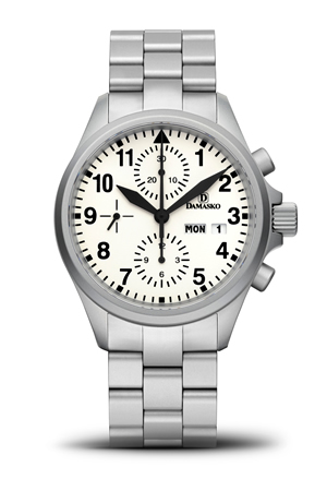 Damasko DC57 Automatic Chronograph Watch  with Ice Hardened Bracelet