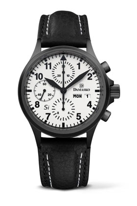 Damasko DC 57 Si Black Automatic Chronograph Watch