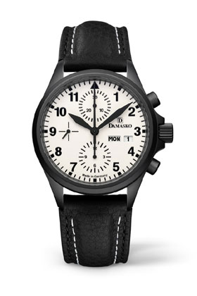 Damasko DC57 Black Automatic Chronograph Watch