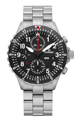 Damasko DC66 Si Automatic Chronograph Watch  with Ice Hardened Bracelet