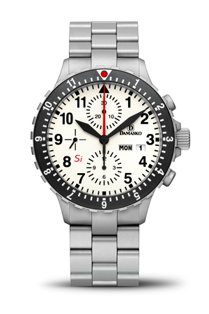 Damasko DC67 Si Automatic Chronograph Watch  with Ice Hardened Bracelet