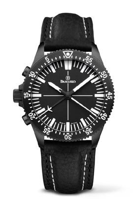Damasko DC80 Left Handed Version Black Automatic Chronograph Watch