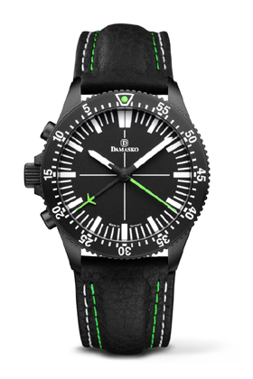 Damasko DC80 Left Handed Version Green Black Automatic Chronograph Watch