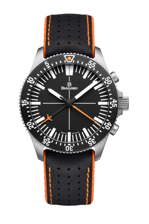 Damasko DC80 Orange Automatic Chronograph Watch
