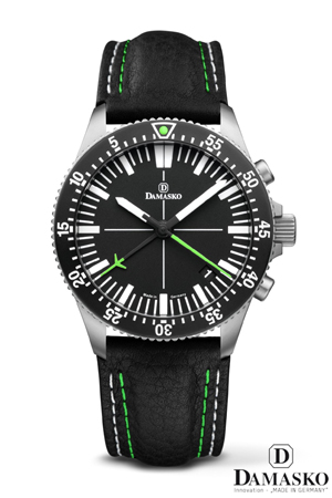 Damasko DC82 Green Automatic Chronograph Watch