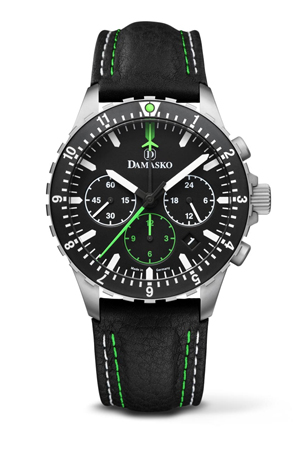 Damasko DC86 Green Chronograph Watch