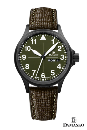Damasko DH2.0 Black Case Hunting and Outdoor Automatic Watch