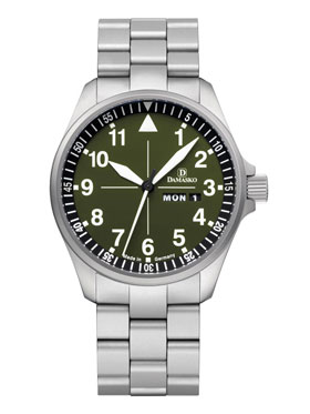 Damasko DH3.0 Hunting and Outdoor Automatic Watch with Ice Hardened Bracelet