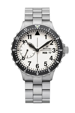 Damasko DK15 Automatic Watch with Ice Hardened Bracelet