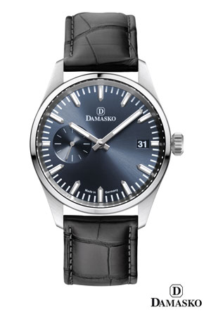 Damasko DK105 Blue Dial Hand Wound Watch