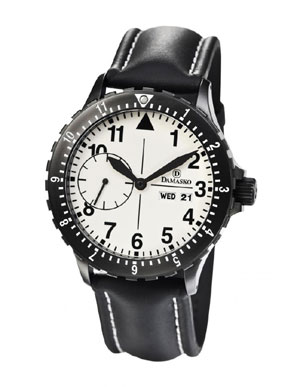 Damasko DK15-Black Automatic Watch