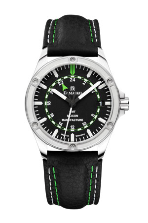 Damasko DK200  GMT Dual Time Automatic Watch
