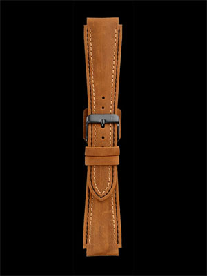 Damasko 20mm Suede Strap with Black Buckle