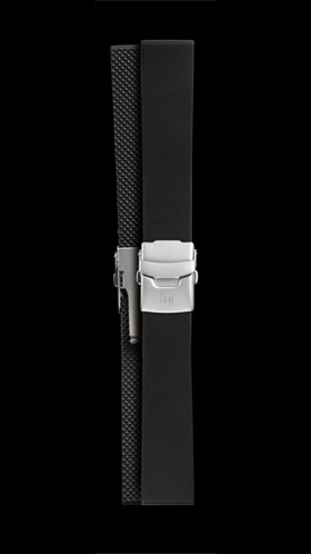 Damasko 20mm Sport Rubber Strap with Deployment Buckle