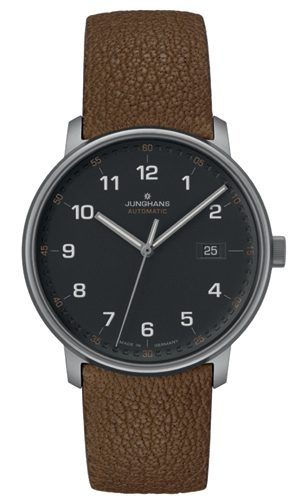 Junghans Form A Titan Black Dial Automatic Watch 027/2002.00
