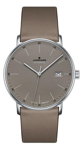Junghans Form A Matt Taupe Dial Automatic Watch 027/4832.00