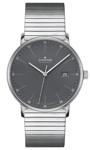 Junghans Form A Matt Anthricite Dial Automatic Watch 027/4833.44