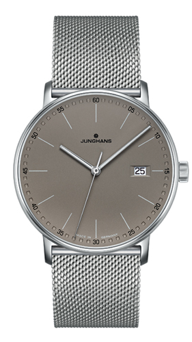 Junghans Form Matt Taupe Dial Quartz Watch 041/4886.44