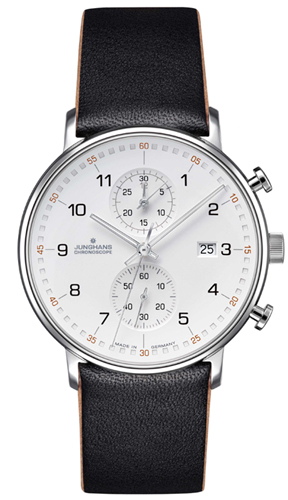 Junghans Form C Silver Dial Chronograph Watch 041/4771.00