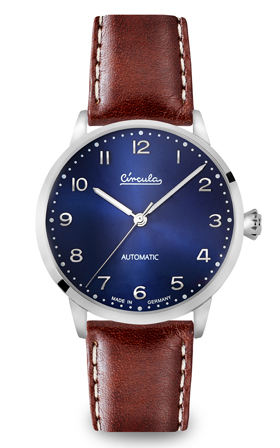 Circula Heritage Automatic Blue Watch