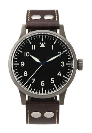 Laco Westerland Original 45 mm Hand Wound Pilot Watch 861750