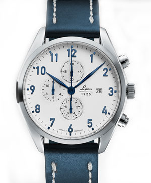 Laco Sylt White Dial Chronograph Watch 861789