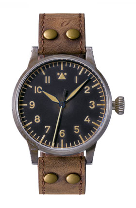 Laco  Original  MEMMINGEN ERBSTUCK Pilot Watch 861935