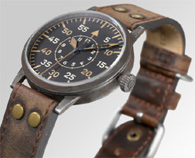 Laco  Original  LEIPZIG ERBSTUCK Pilot Watch 861936 #3
