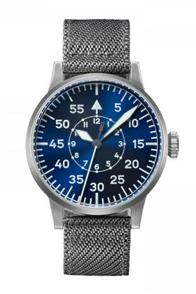 Laco  Original  PADERBORN Blue Dial Automatic Pilot Watch 862082