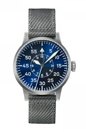 Laco  Original  LEIPZIG Blue Dial Automatic Pilot Watch 862084
