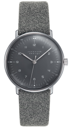 Junghans Max Bill Grey Dial Hand Winding Watch 027/3602.00