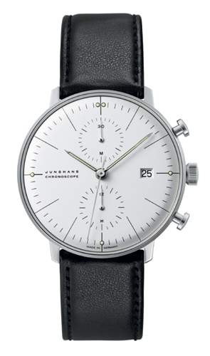 Junghans Max Bill Silver Dial Chronoscope Watch 027/4600.00