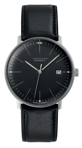 Junghans Max Bill Black Dial Automatic Watch 027/4701.00