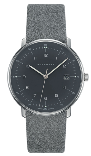 Junghans Max Bill Grey Dial Quartz Watch 041/4818.00