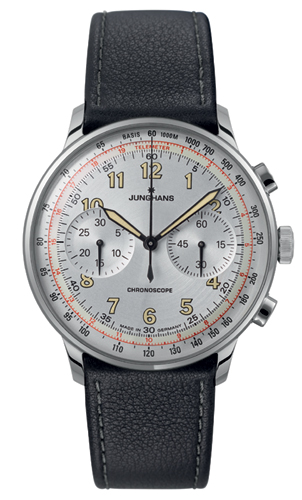 Junghans Meister Telemeter Matte Silver Dial Chronograph Watch 027/3380.00