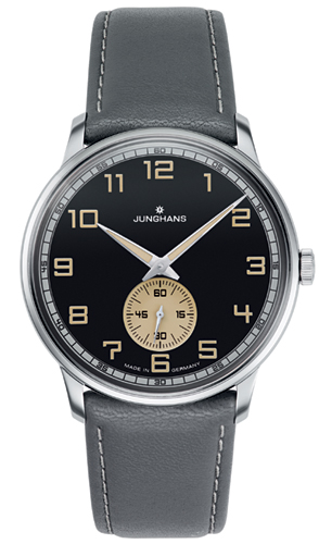 Junghans Meister Handwound Anthracite Grey Effect Lacquer Dial Watch 027/3607.00